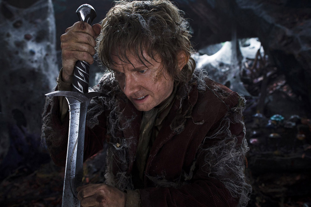 Bilbo Baggins and Sting Sword