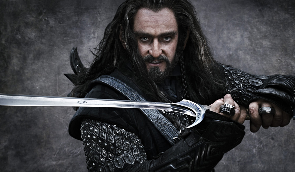 Thorin Oakenshield and Orcrist Sword