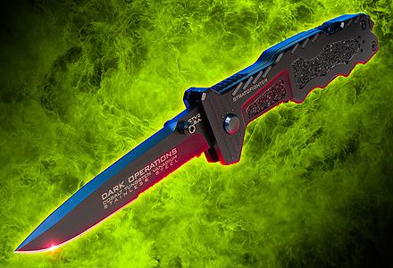 StratoFighter Stiletto - Dark Ops Knives