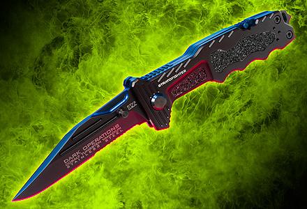 StratoFighter Folder - Dark Ops Knives