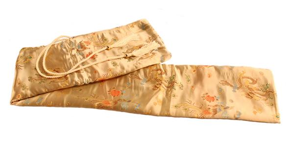 Thaitsuki Nihonto Gold Dragon Sword Bag SB1
