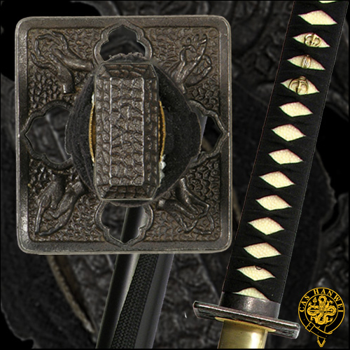 Practical Shinobi Ninja Sword (White Same) - Paul Chen Hanwei SH1071