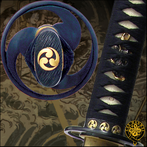 Great Wave Katana - Paul Chen Hanwei SH5004